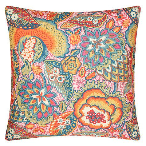 Buy Liberty Fabrics & John Lewis Patricia Spice Cushion Online at johnlewis.com
