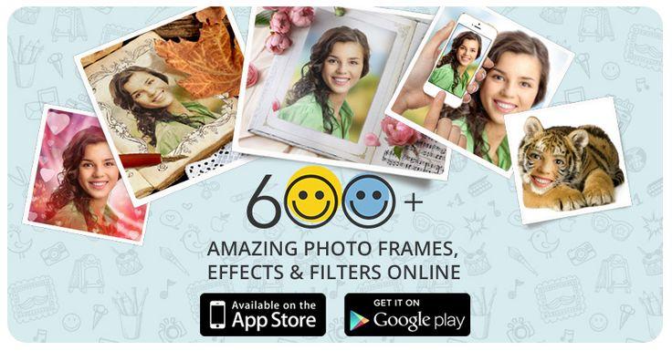 Effetti foto online, cornici, fotomontaggi e cartoline