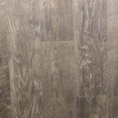 Wide Plank Brushed Graphite 12mm Laminate