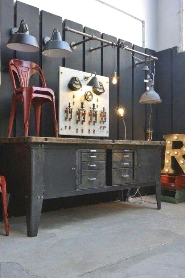 29 Creative Industrial Vintage Decor Designs For A Brick Steel Home Vintage Decoracao Industrial Decoracao Vintage Industrial Ideias De Decoracao Para Casa