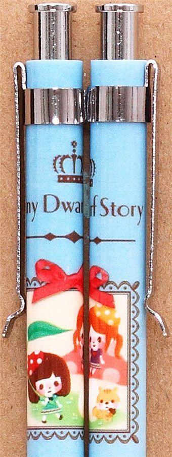 blue dwarf girls mechanical pencil from Japan 2