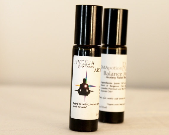 AromaPotions  Rx  Balance Me  Anxiety and by ShopHygieia on Etsy, $18.00