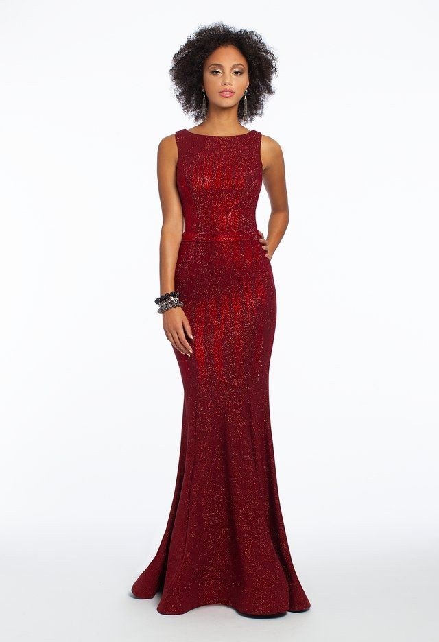 0374d3a353c Simple yet classy, this mother of the bride dress encompasses true glamour  without going over the top: the portrait neckline, fitted bodice, mermaid  skirt, ...