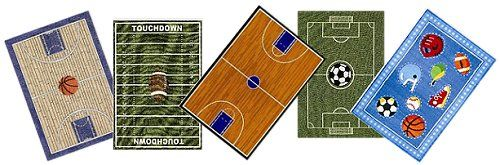 sports floor rugs-all sports fun rugs-rugs sports themed