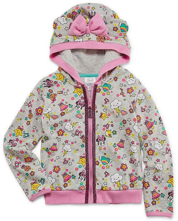 647c9cefd Disney Minnie Mouse Lightweight Fleece Jacket-Toddler Girls   Disney ...