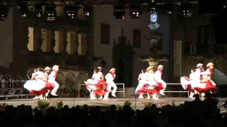 La danza Folklórica Cubana: El perico ripiao, El pompore & Zumba