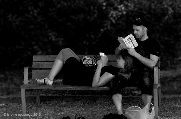 A reading scene, via Flickr.Reading Scene, People Reading