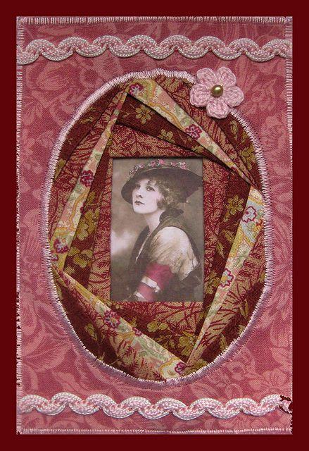 Postcard for Maureen by angéliquepatch, via Flickr