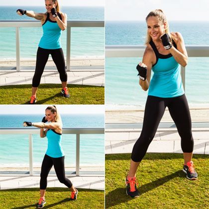 No Gym? No problem! Home boxing for that body!