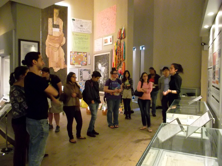 #PotentialistCanada - Trip Purpose 3: Working for women's empowerment - Giving a tour of a museum documenting war crimes against women and sexual slavery (House of Sharing Museum, South Korea)