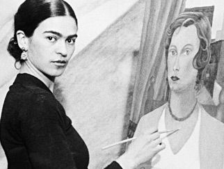 Frieda Kahlo, remarkable woman , remarkable life story, amazing artist