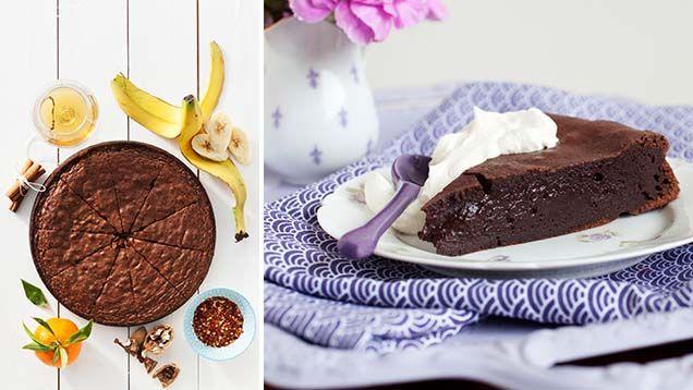 Kladdkaka på 5 mumsiga sätt. Kolla in våra fantastiska recept för chokladälskaren.