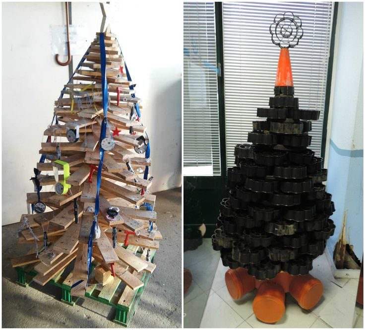 893 Best Recycled Christmas Decorations & Ideas Images On