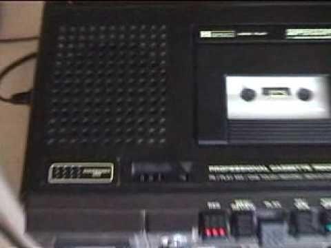 SuperScope by Marantz C-206LP cassette recorder. - YouTube