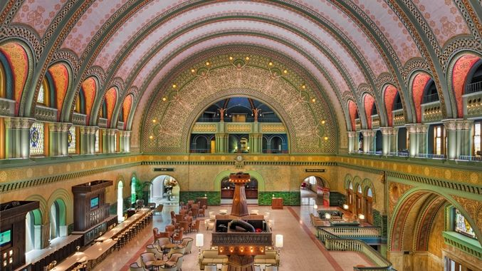 The Grand Hall Lobby At St Louis Union Station Doubletree