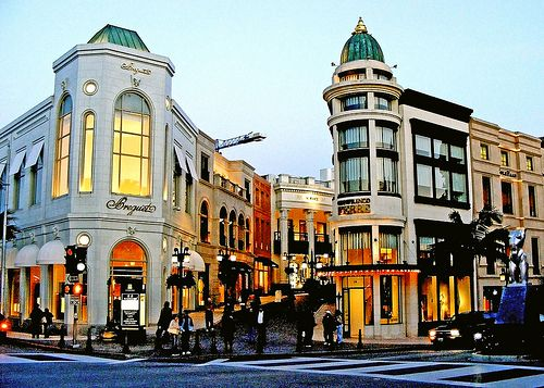 Rodeo Drive, LA is easily the most famous shopping street in the world. But offscreen, its overpriced luxury retail chains, including Hermès, Vuitton, and Armani, are just more of the same boutiques you'll find on any upscale boulevard around the globe.