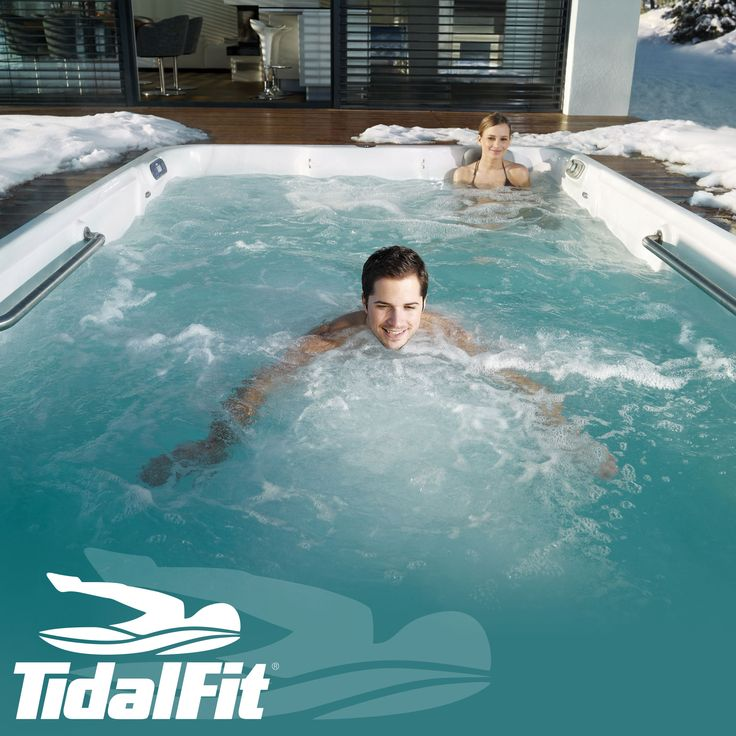 Put your jacket and keys down.  With a #TidalFit #SwimSpa, you can #workout without having to leave your house. www.TidalFit.com