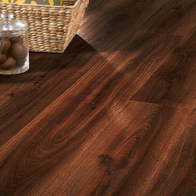 Barn Oak 24860 Waterproof Floor Panel (4.5mm x 191mm x 1.3m x 7 | Clever Click)  Wood effect flooring ideal for waterproof flooring in bathrooms and kitchens.