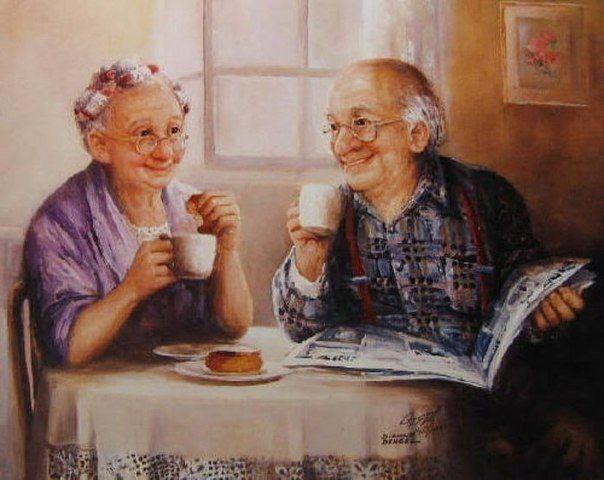Dianne Dengel  ...Morning coffee together is so nice.