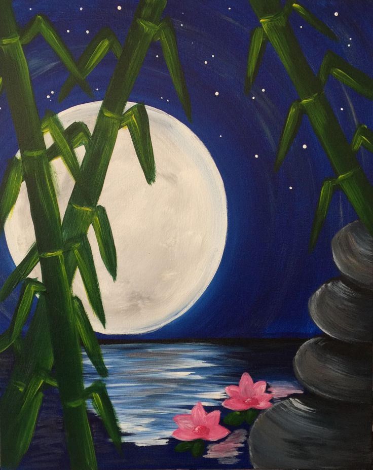 Best 25 Moonlight painting ideas on Pinterest