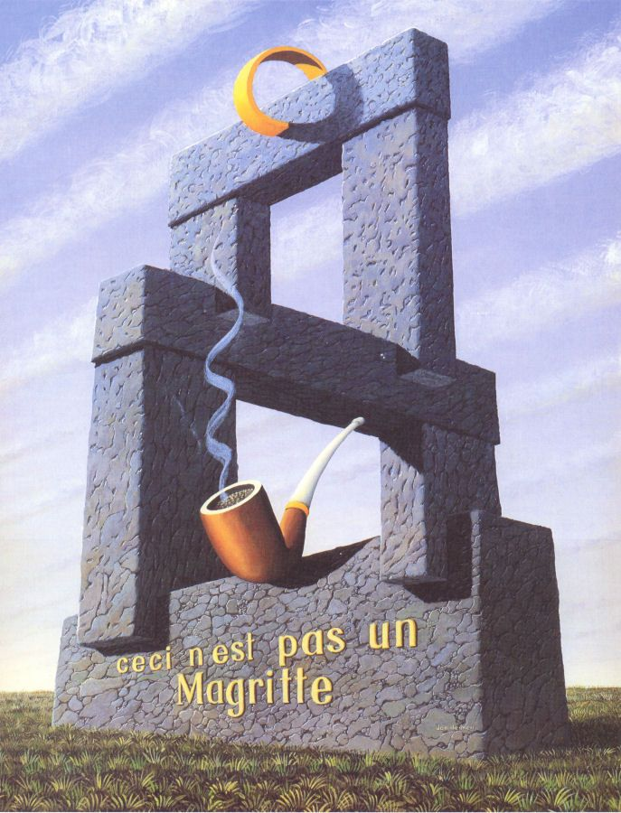 Jos De Mey - This Is Not A Magritte (1989):