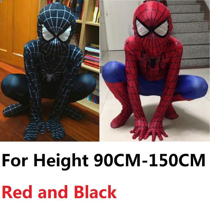 Cheap suit sweater, Buy Quality suit long directly from China suit vests for men Suppliers: kids spandex black blue amazing spiderman costume kids 3d girl boys child the amazing spider man mask costume suit 2SIZE