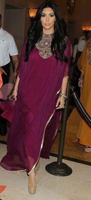 Hot-Sales-2014-Burgundy-Dubai-kim-kardashian-dress-Very-Fancy-Kaftans-Abaya-Jalabiya-Ladies-Maxi-Dress (1)