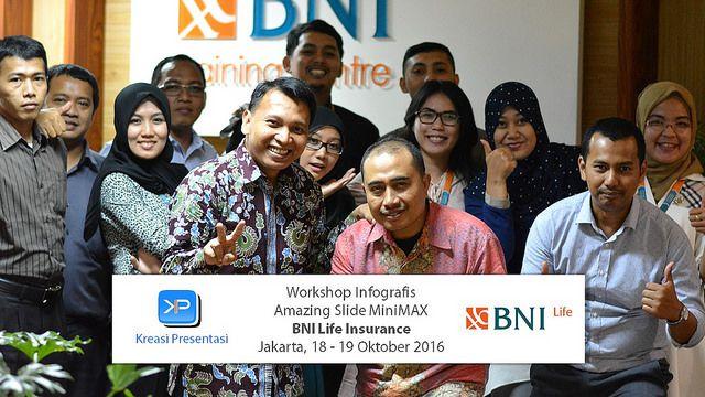 Workshop Infografis, BNI Life Insurance 18-19 Oktober 2016.