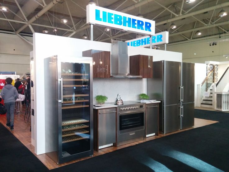 Another #sleek and #modern #Liebherr display from #IDS15
