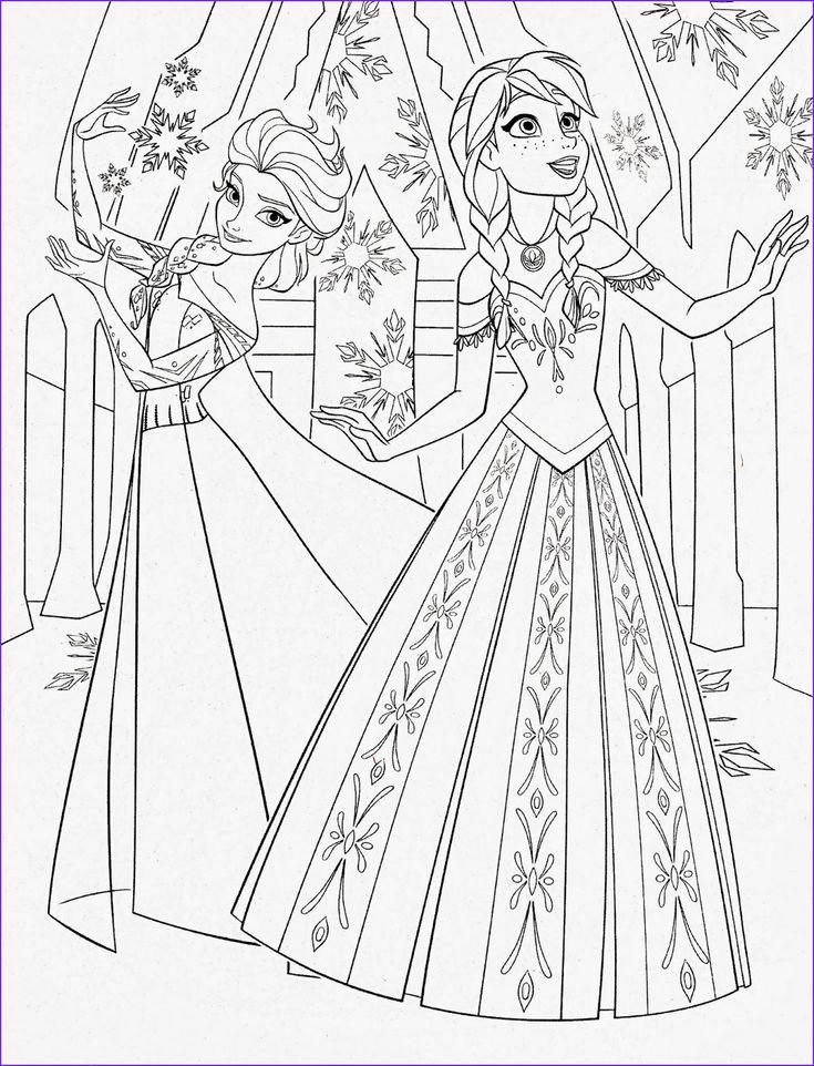 "Disney Movie Princesses ""Frozen"" Printable Coloring Pages ..."