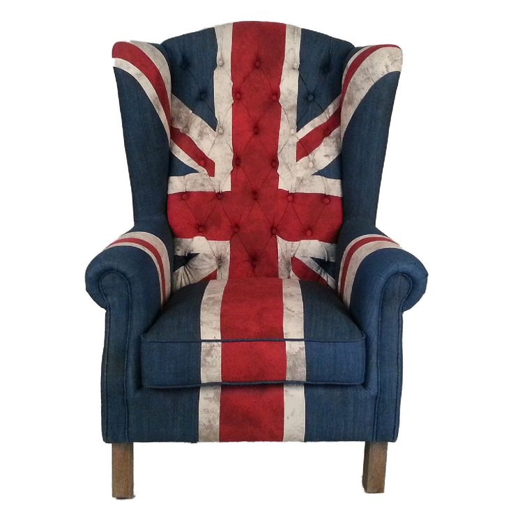 Union Jack Flag Armchair