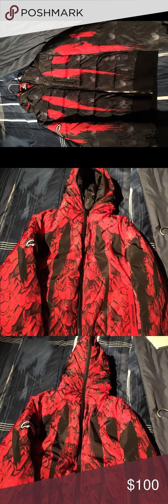 Sprayground 100% authentic Men's size medium spray ground Jackets & Coats Puffers