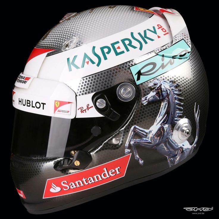 Vettel Helmet design Italian GP 2017. By JMD design