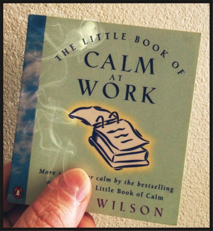 My Little Book of Calm...  An ode to a love affair with second hand books