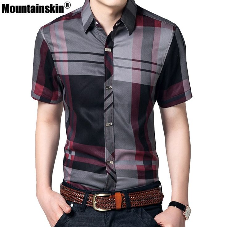 Mountainskin Striped Men Shirts 5XL Summer Short Sleeve Shirts Men Clothes 100% Cotton Brand Business Men Shirts Slim Fit SEA140     Tag a friend who would love this!     FREE Shipping Worldwide     Buy one here---> https://onesourcetrendz.com/shop/all-categories/mens-clothing/mens-shirts/mountainskin-striped-men-shirts-5xl-summer-short-sleeve-shirts-men-clothes-100-cotton-brand-business-men-shirts-slim-fit-sea140/