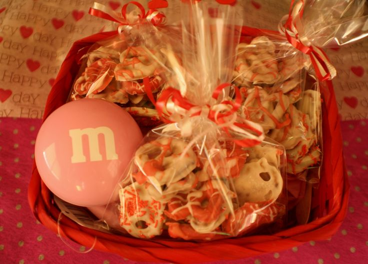 Pretzels cubiertos de chocolate