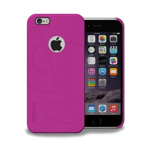 Smaak™ Sleek Ultra Thin PC Case  for iPhone 6 - Electric pink For more info visit http://ismaak.com