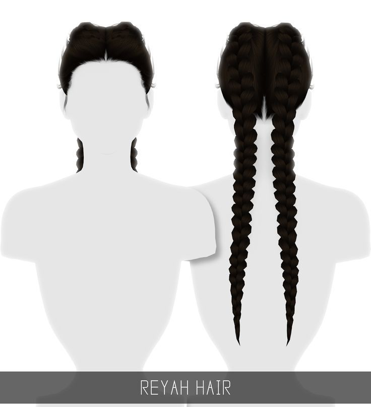 Vereinfachung: Reyah Hair – Sims 4 Hairs – sims4hairs.com / … – Sims 4 cc -…   – Haar