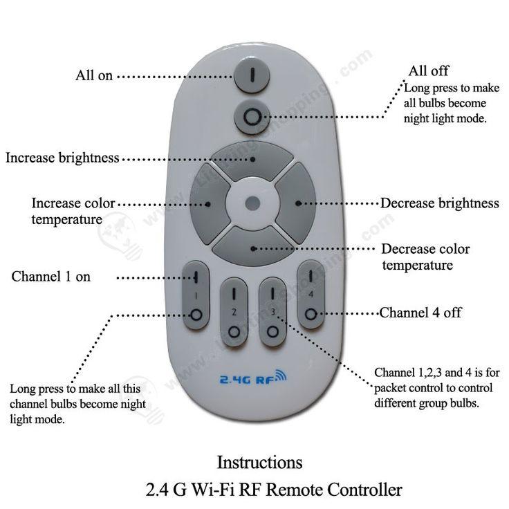 #Smart #LED #Light #Bulbs >>> 7W, 630Lm, AC85-265V, #Wireless, With RF Remote Controller, http://www.lightingshopping.com/7w-smart-led-light-bulbs.html