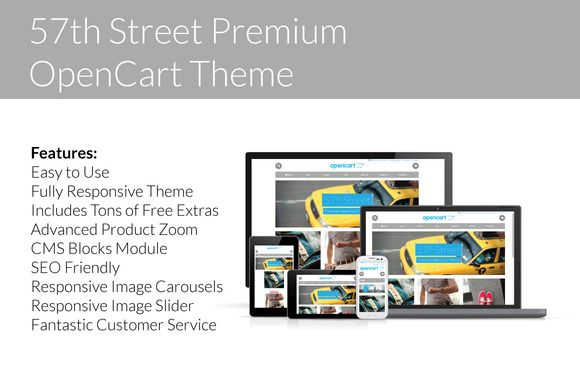 57th Street - Premium OpenCart Theme by Citoworks on Creative Market