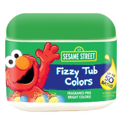 Sesame Street Fizzy Tub Colors 24 Count $4.9550 Counting, Kids Stuff, Colors 50, Sesame Streets, Personalized Care, Street Fizzies, Bathtubs Colors Tabletsjpg Jpg, Baby Bath, Fizzies Tubs