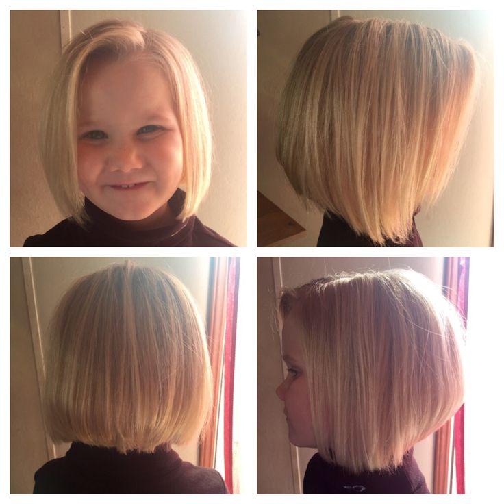 Little girl haircut