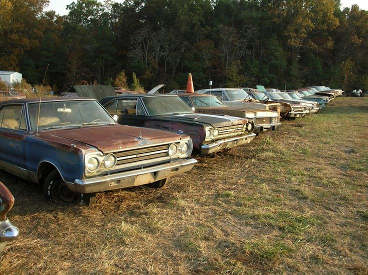 Muscle Car Barn Find