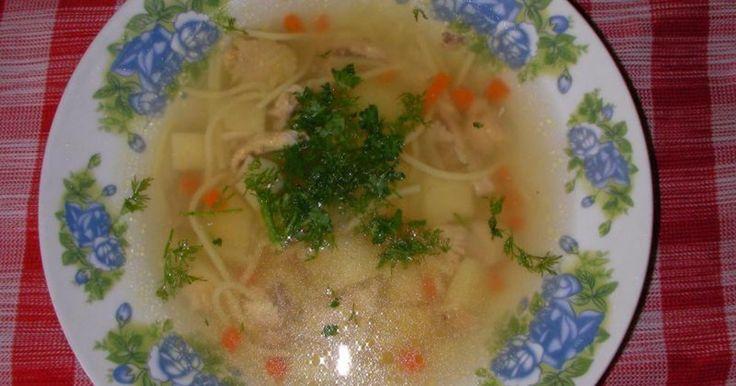 Питательная и вкусная куриная лапша для полноценного обеда