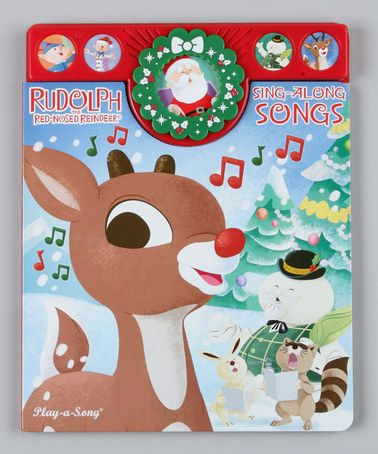 Take a look at this Rudolph Holiday Song Board Book on zulily today!