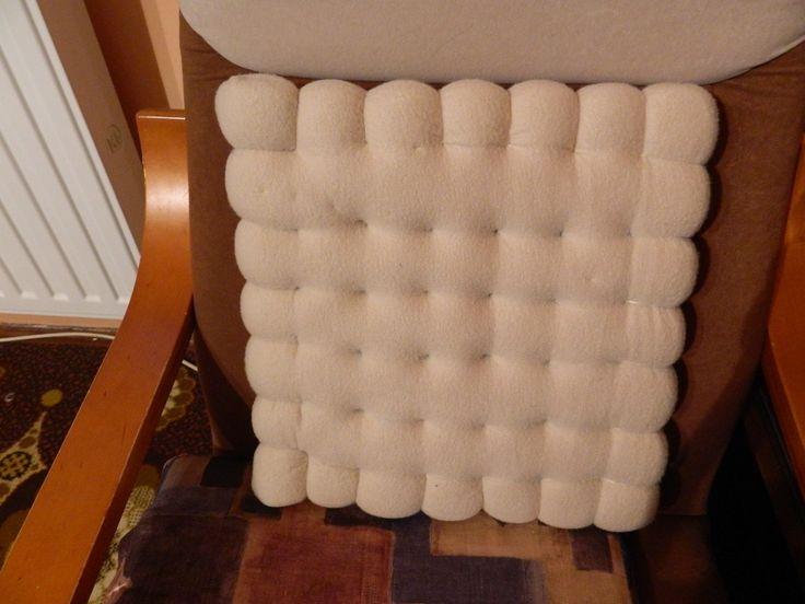keksz párna/biscuit pillow