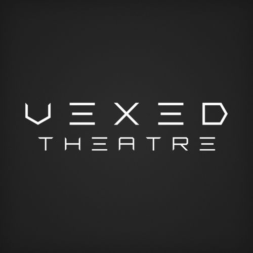 Vexed Theatre Company Wordmark Logo Design   Created by Nick DePalo of Empirical Designs
