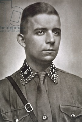 Horst Ludwig Wessel was a German National Socialist activist and an SA-Sturmführer who was made a posthumous hero of the Nazi movement following his violent death in 1930.