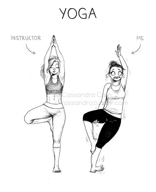 I am an instructor. Trust me there are poses anyone but babies can do and also ones we would have to be practicing in the womb to get it right.