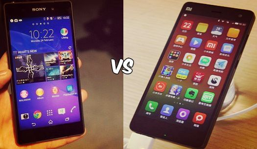 Xiaomi Mi4 vs Sony Xperia Z2: Will Xperia Z2 Defend Its Presence See more at: http://blog.zopper.com/xiaomi-mi4-vs-sony-xperia-z2/  Sony Xperia Z2 has been released in the first quarter of 2014, while the recent launch in the mobile world is Xioami Mi4 launched in July.